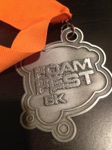 Foam Fest medal!