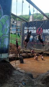 Super Spartan - rope climb 2