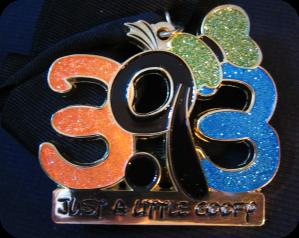 Goofy medal
