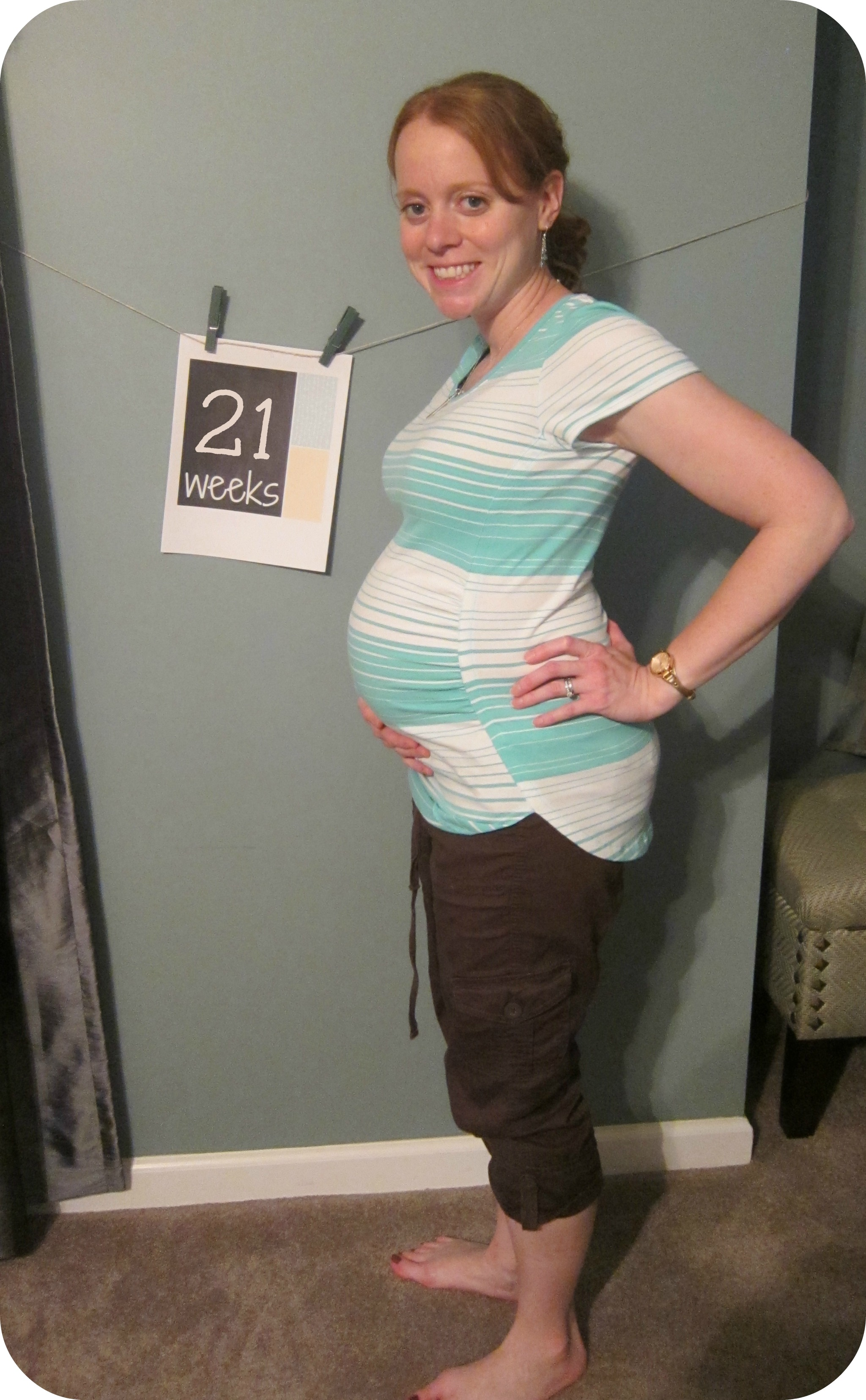 Week 21: Bumpdate and Gender Reveal!