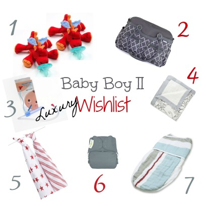 Baby Boy Luxury Wishlist