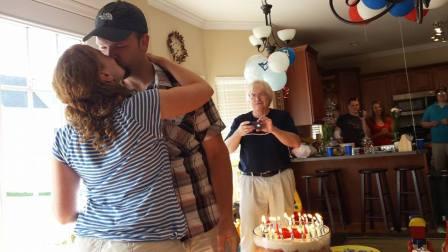 birthday 7-5-14 kissy