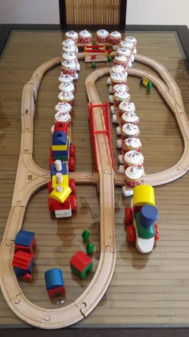 birthday train cake 7-5-14