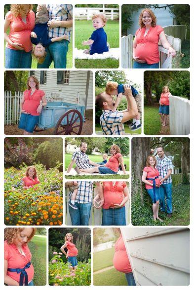 Maternity photos 35 weeks