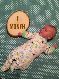 S - one month
