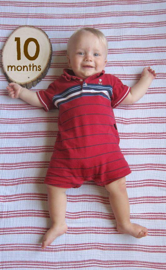 Sage 10 months onesie